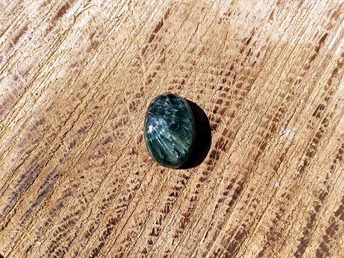 Cabochon Séraphinite ovale (pièce unique)