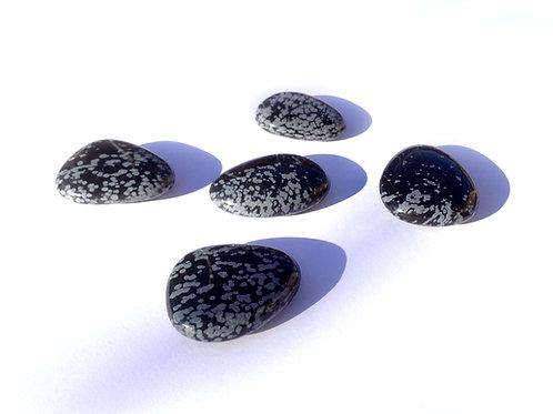 Palet obsidienne mouchettée