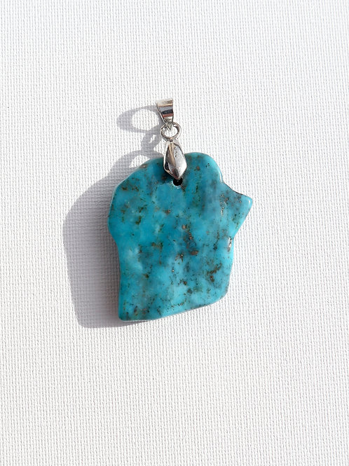 Pendentif Turquoise USA