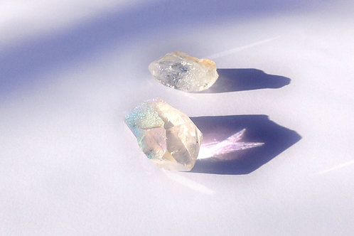 Pointes quartz aura angel