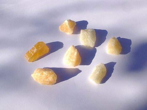 Calcite orange brute