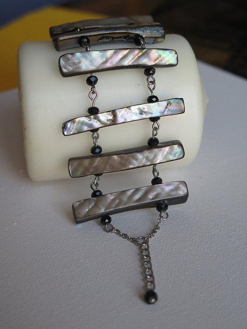 Bracelet nacre et cristal