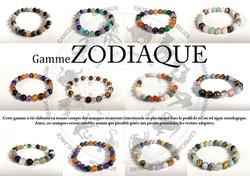 Bracelets du zodiaque