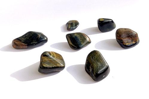 Œil de faucon MM (pierre roulée)