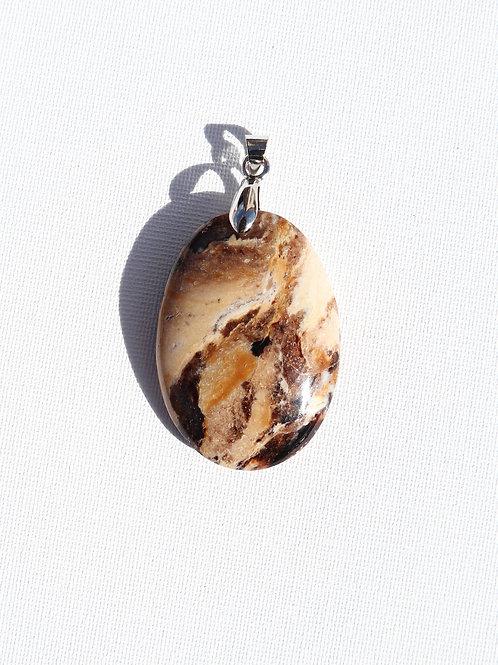 Pendentif Opale Noire