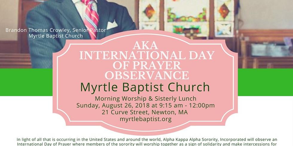 AKA International Day of Prayer Observance (1)