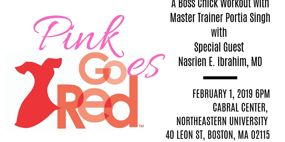 Pink Goes Red for Heart Health - A Boss Chick Workout