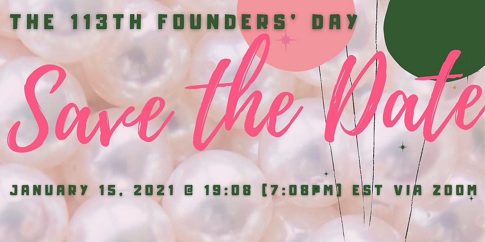 Founders' Day 2021 - SORORS ONLY