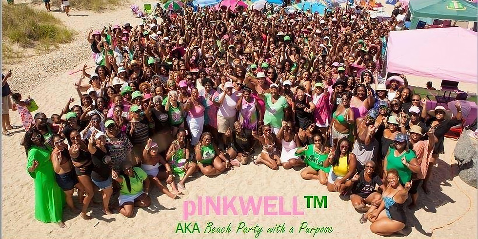 pINKWELL Psi Omega Beach Party