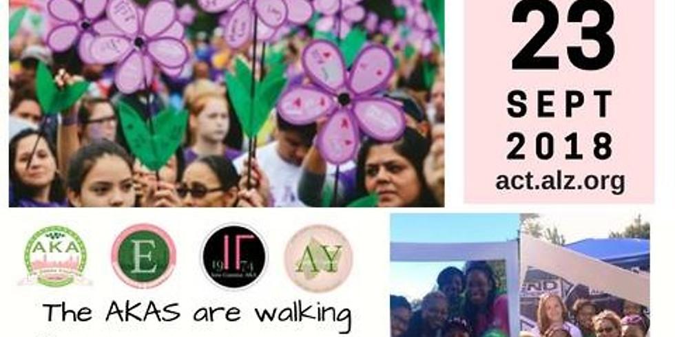 ALZ Walk for Alzheimer's Awareness