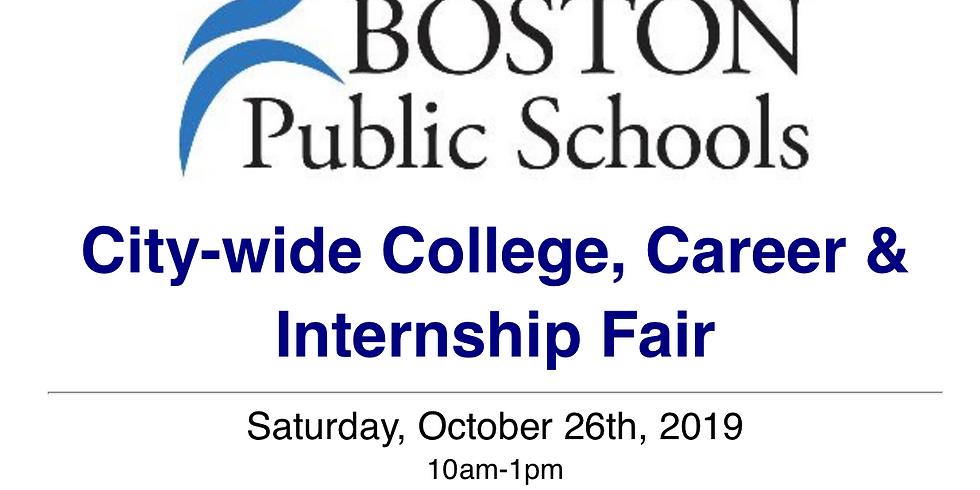 BPS City-Wide College, Career, & Internship Fair