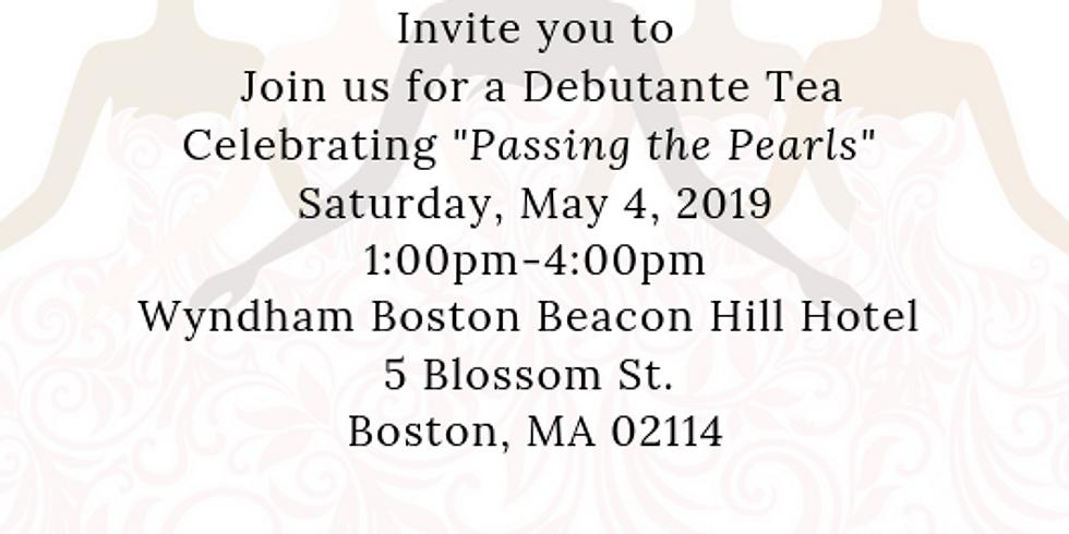 2019 Debutante Tea