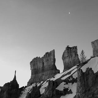 Moon Rise, Bryce Canyon, USA