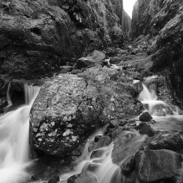 Canyon, Faroe Islands