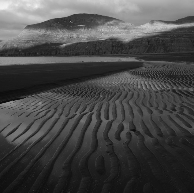 Sand Patterns, Hornstrandir