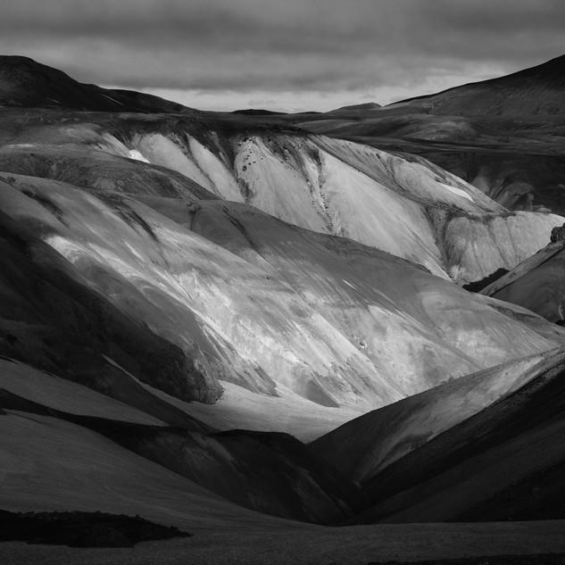 Contrast, HIghlands, Iceland