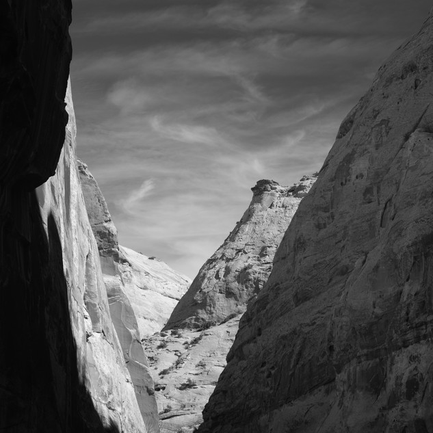 Glimpse, Capitol Reef National Park, USA