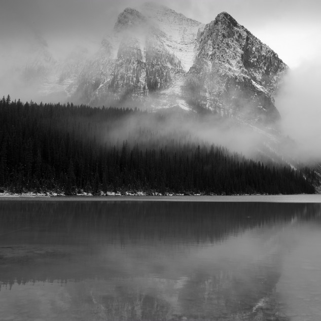 Mountain Clouds, Banff, Canada
