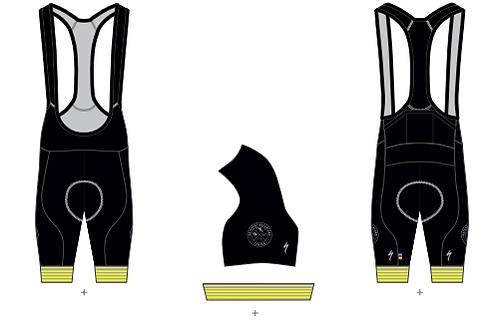 PAC RBX Comp Bib Shorts