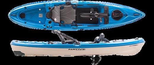 Native slayer propel 12 LT kayak BLUE