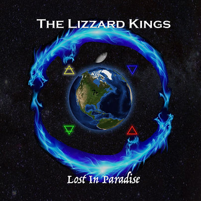 The Lizzard Kings_Lost In Paradise_Front