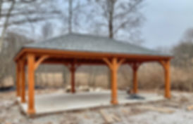 Pavilion at Rhinoceros Creek