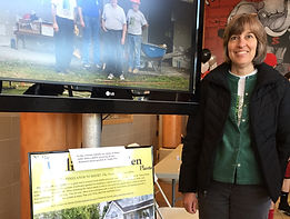 Presentation of Scout projects at Angle Fly Preserve