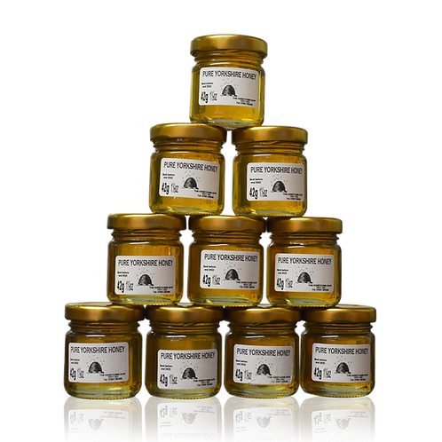 PURE YORKSHIRE HONEY (42g/1½oz) (10 PACK)