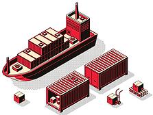 الشحن البحري من الصين