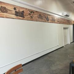 Wise Axe mural