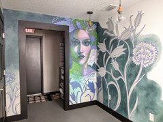 Mural for Culture Hair Salon, Ormond Bea