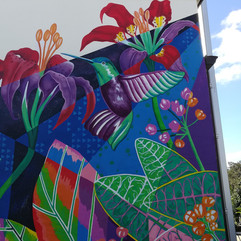 Native Hummingbird Mural