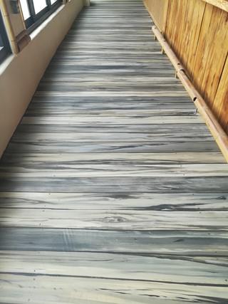 Wood Dock Plank Floor