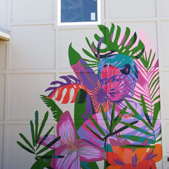 Frida in the Foliage