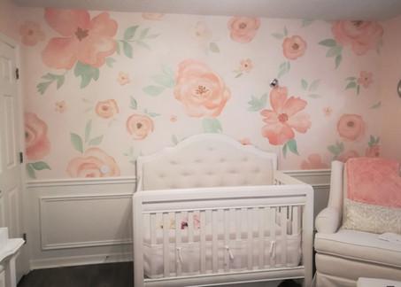 Baby Nursery Wall