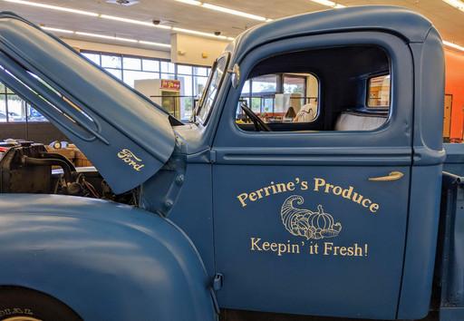 "Perrine""s Truck Lettering"