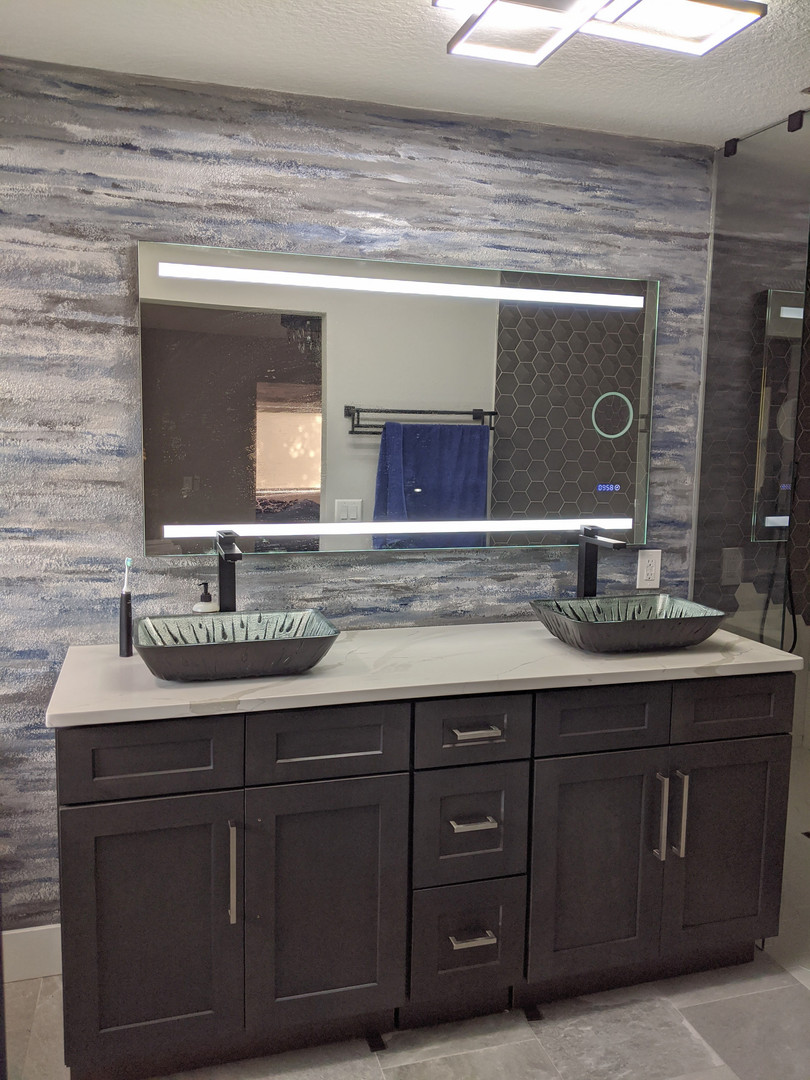 Modern Bathroom Custom Finish