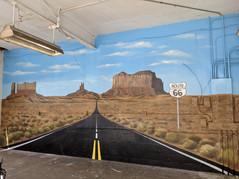 Rt. 66 Garage Mural