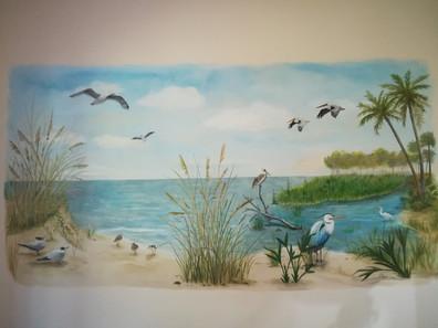 Audubon Inspired Mural