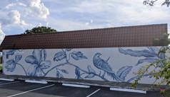 Chinoiserie Mural, Port Orange FL