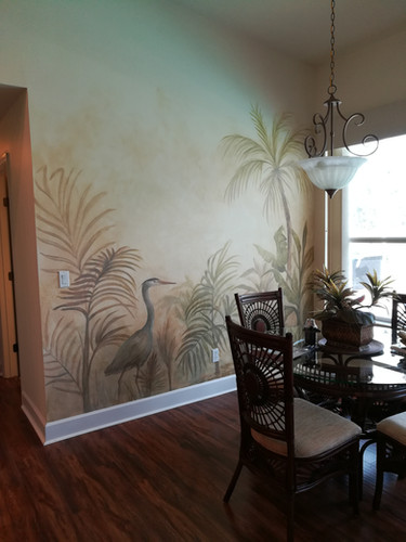faux and mural
