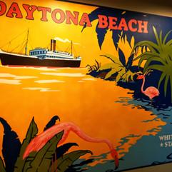 Daytona Beach Poster Mural