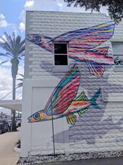 Flying Fish Mural, New Symrna Beach