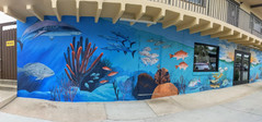 Mural for Two Jerks Seafood