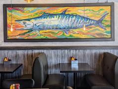King Mackerel Painting for Big Tuna