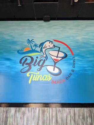 Big Tuna Logo Mural