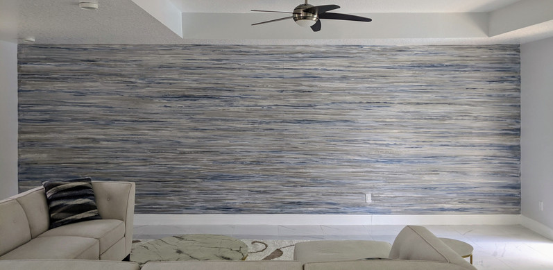 Custom Wall Finish