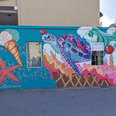 Surfside Shakes Mural