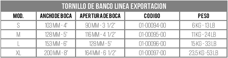 Tabla_Modelos_Tornillos_de_Banco_Línea_E