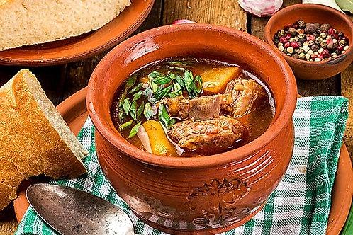 Чанахи (густой суп из баранины) 300г